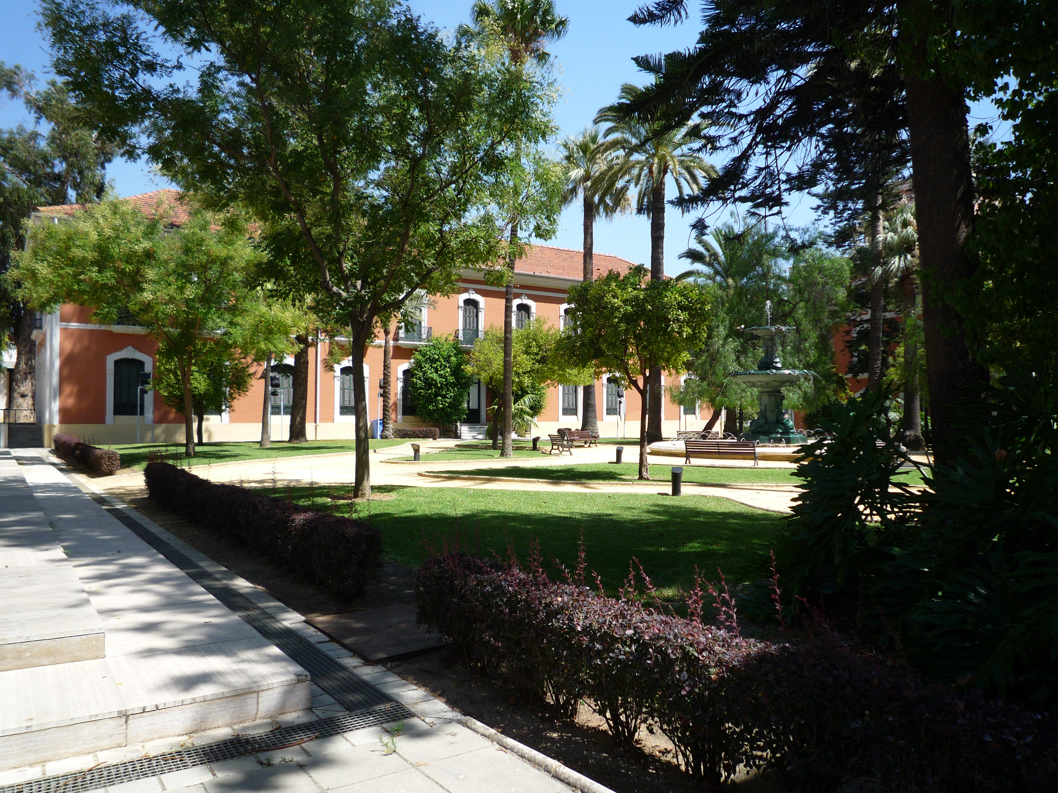 Casa de col n jardines andaluc a soundscape - Casa colon huelva ...