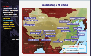 Soundscape of China